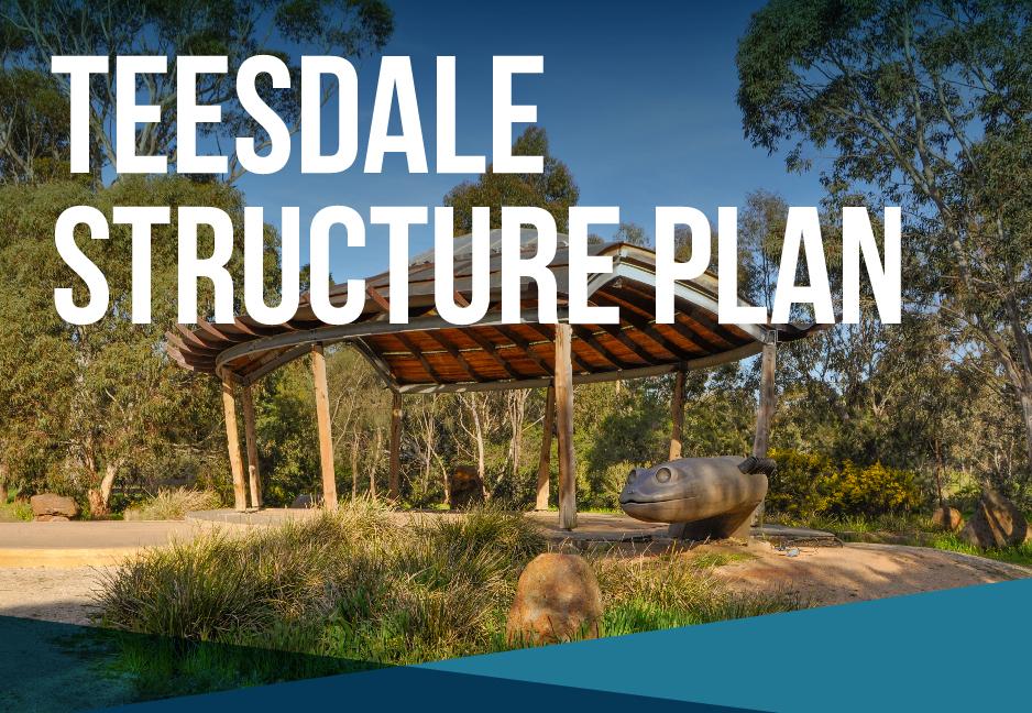 Teesdale Structure Plan Golden Plains Shire Council