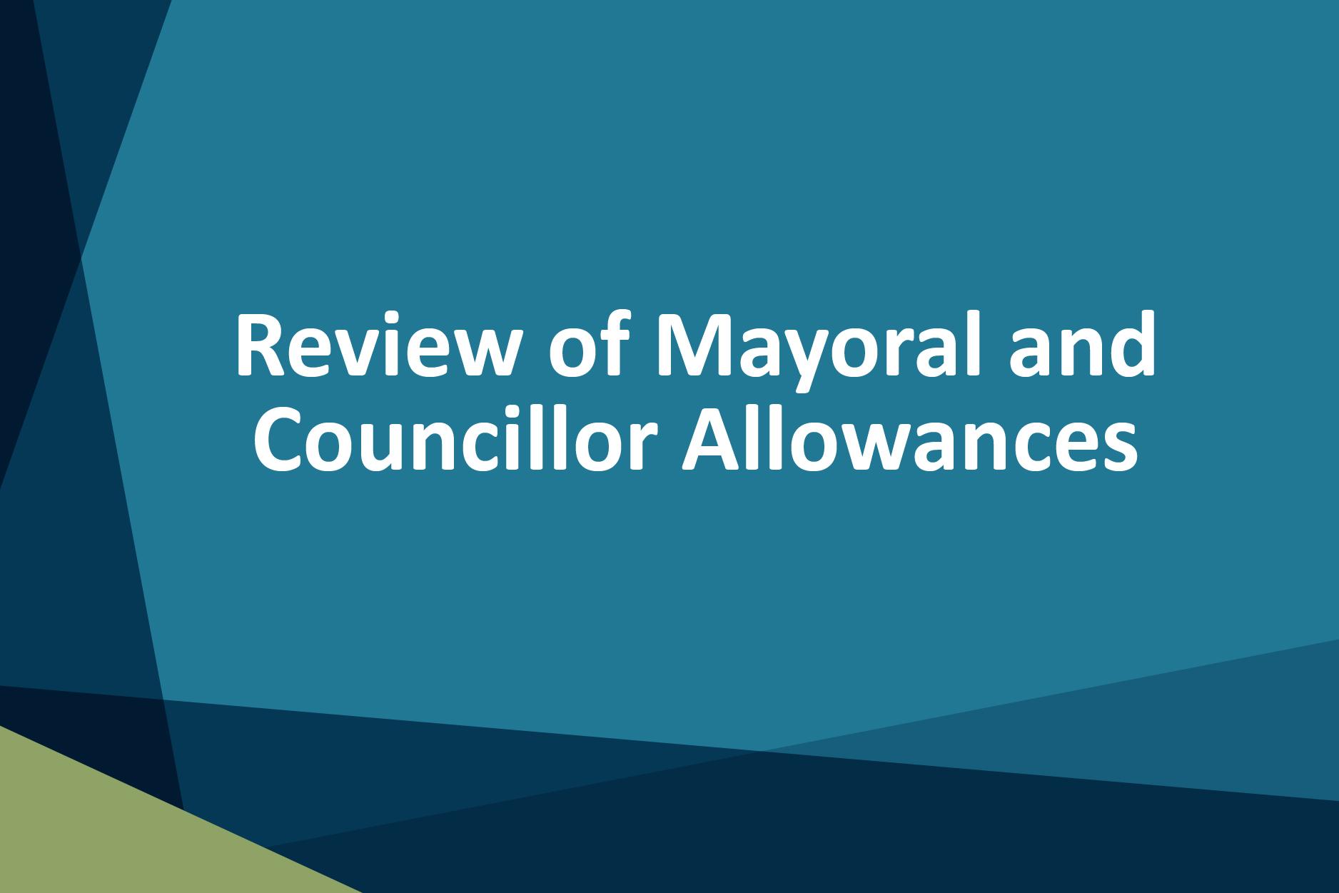 Golden Plains Shire Council Review of Mayoral and Councillor Allowances